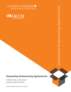 Unpacking Outsourcing Agreements