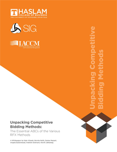 Unpacking Competitive Bidding