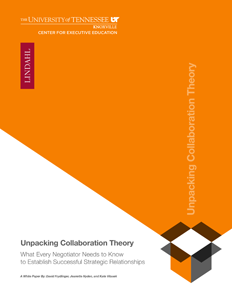 Unpacking Collaboration Theory