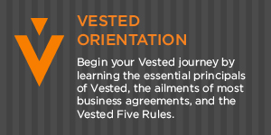Vested Orientation