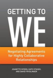 Negotiating Agreements for Highly Collaborative Relationships