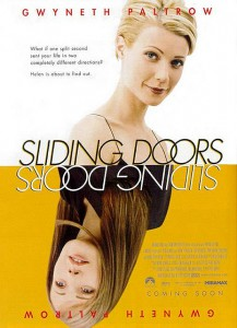 sliding doors movie poster_guillaumekenny