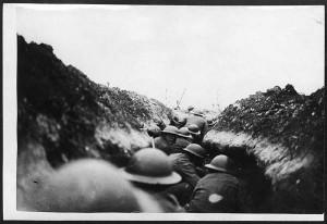 WWI infantry