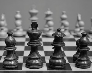 chess board BW_Toby Fruge'