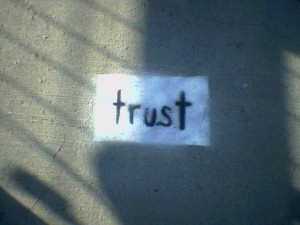 Trust is a Two-Way Street
