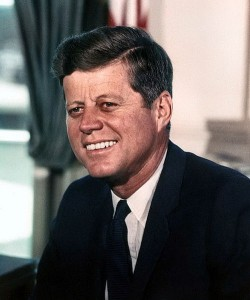JFK--Photo by Cecil Stoughton_Robert Huffstutter