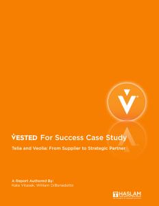Telia-Veolia Case Study