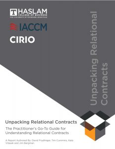 Unpacking Relational Contracting