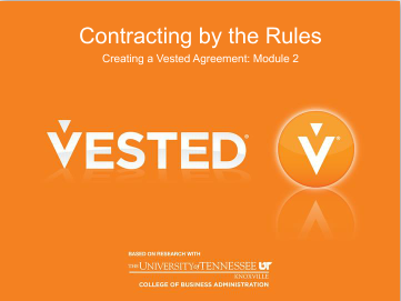 Module 2 - Contracting by the Rules